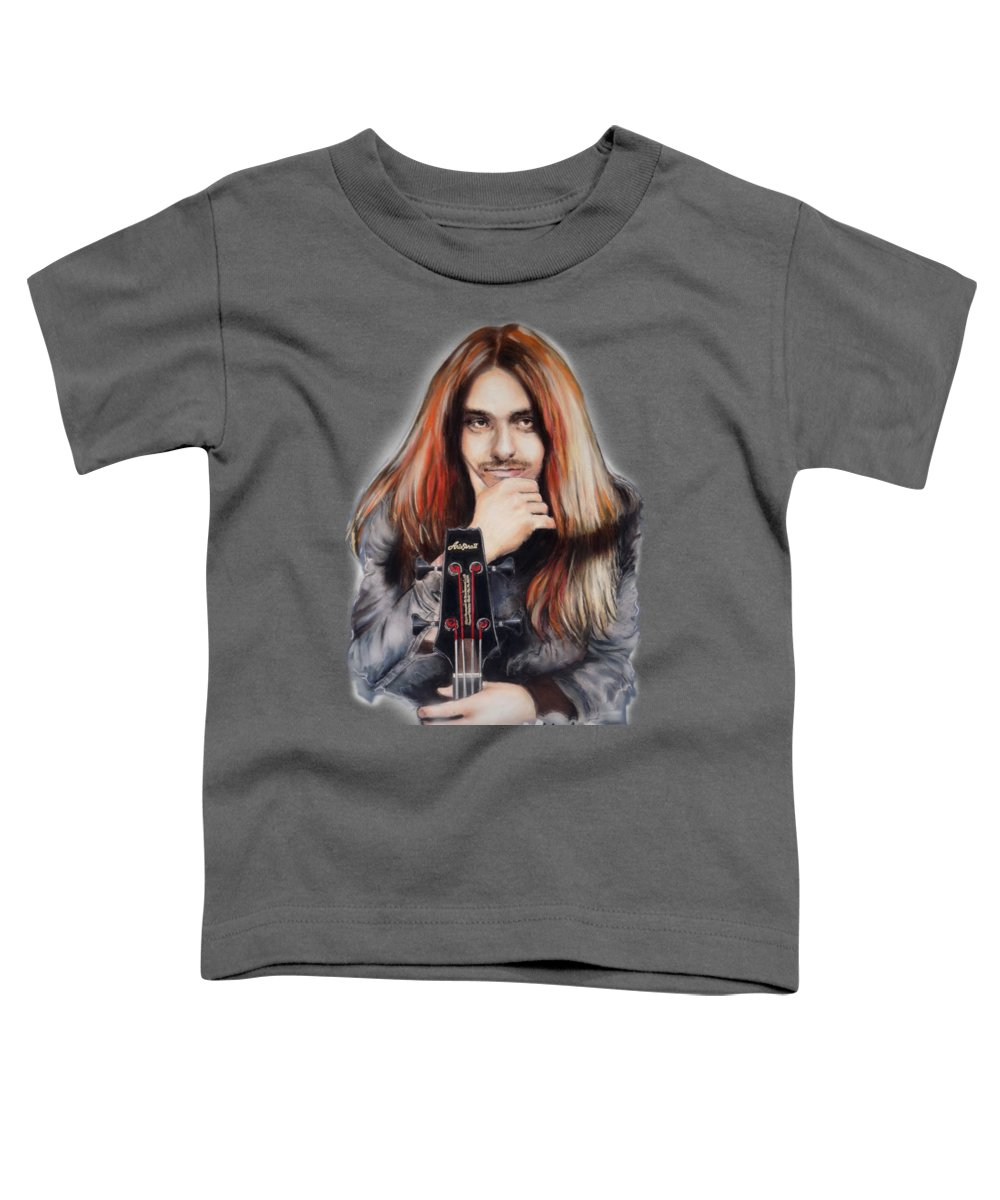 Cliff Burton Toddler T-Shirts