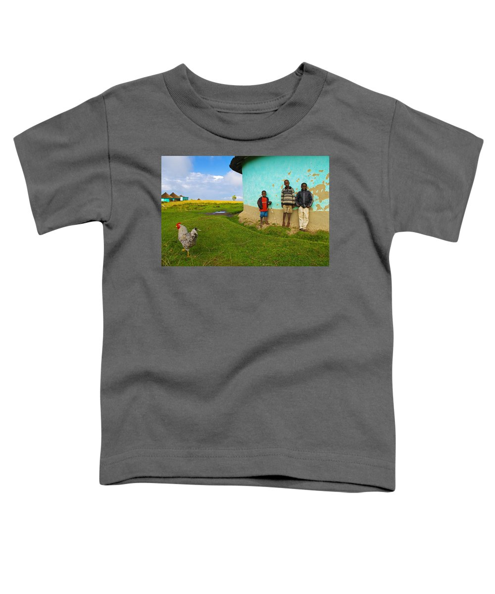 Skip Toddler T-Shirt featuring the photograph Cocky by Skip Hunt