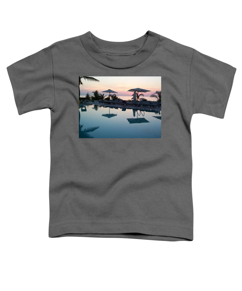 Charity Toddler T-Shirt featuring the photograph Columbus Isle by Mary-Lee Sanders