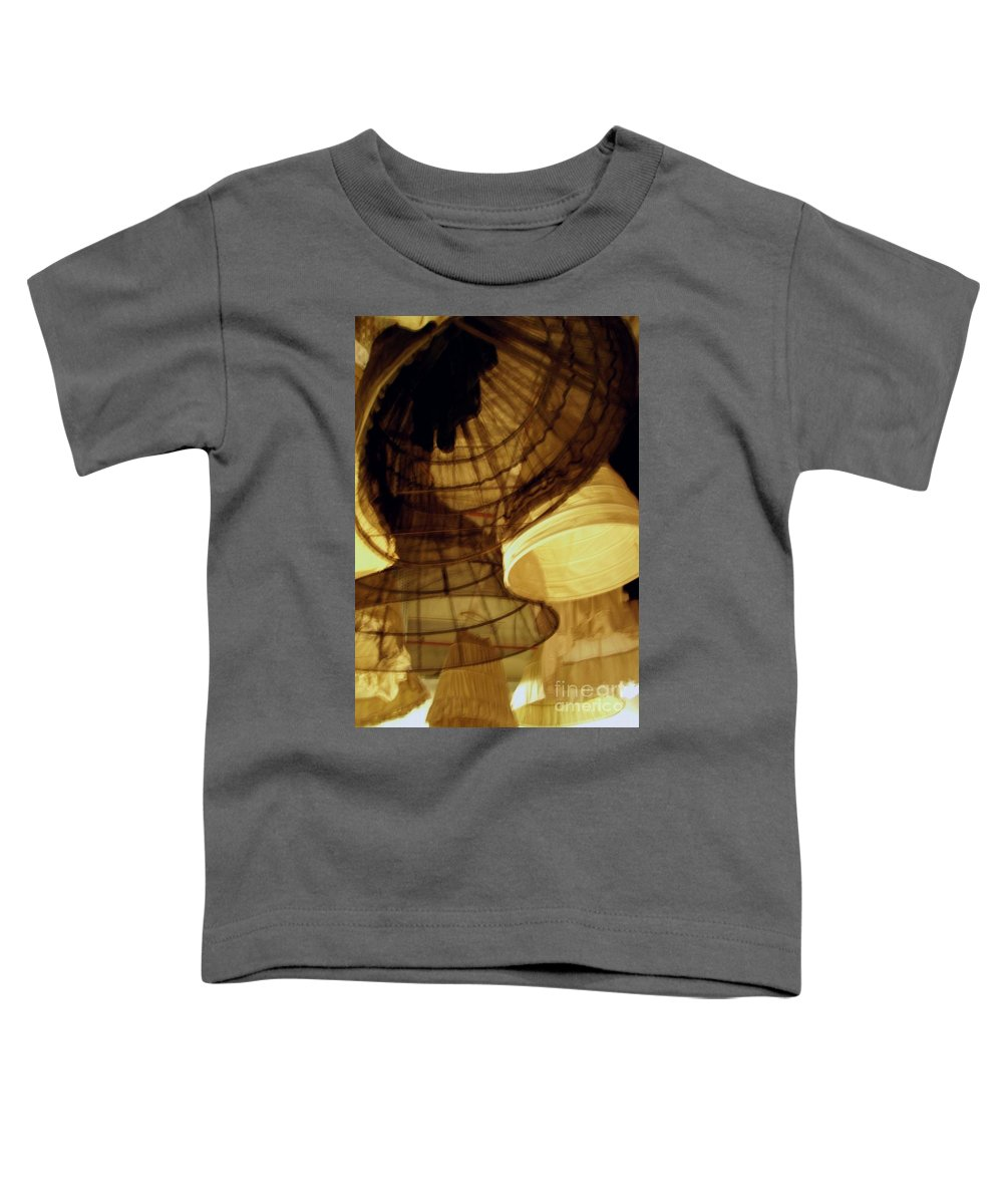 Theatre Toddler T-Shirt featuring the photograph Crinolines by Ze DaLuz