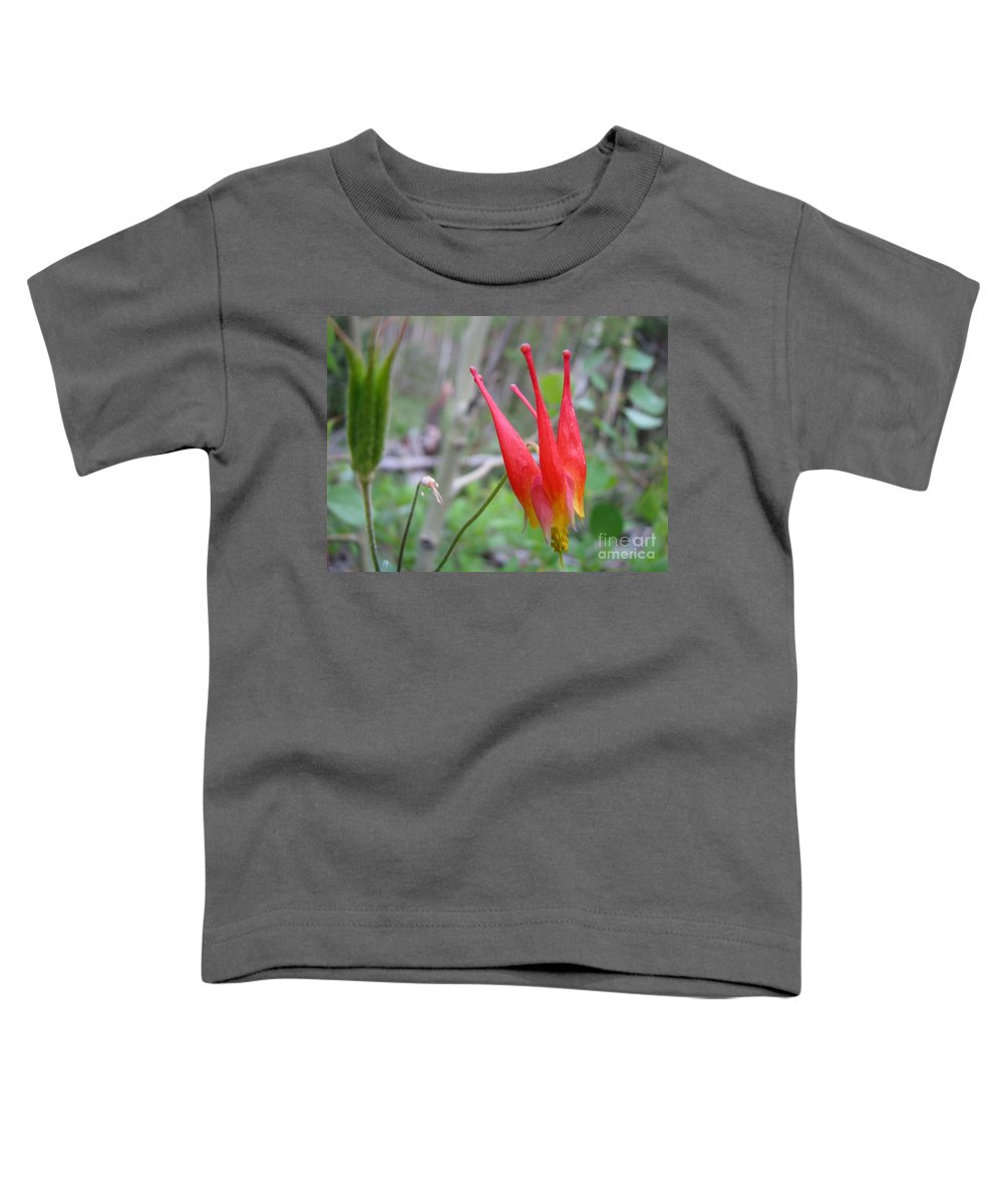 Flowers Of Colorado Toddler T-Shirt featuring the photograph Crown by Amanda Barcon
