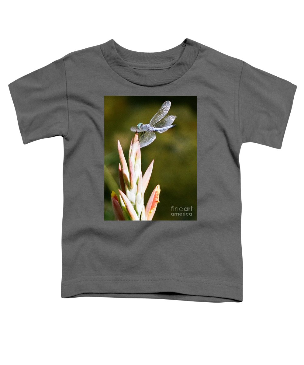 Dragonfly Toddler T-Shirt featuring the photograph Damselfly by Dean Triolo