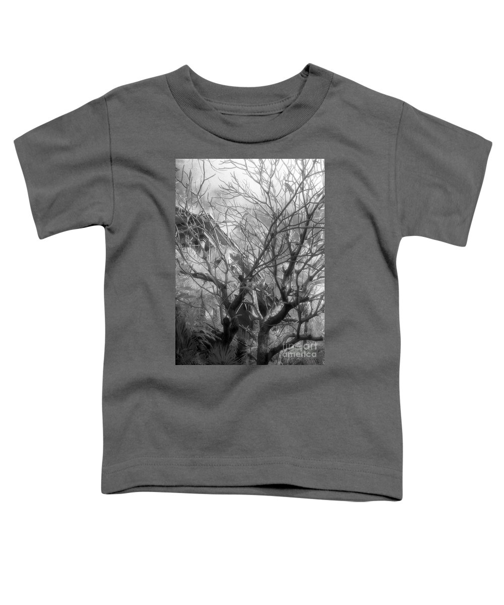 Infrared Photography Toddler T-Shirt featuring the photograph Day Dream by Richard Rizzo