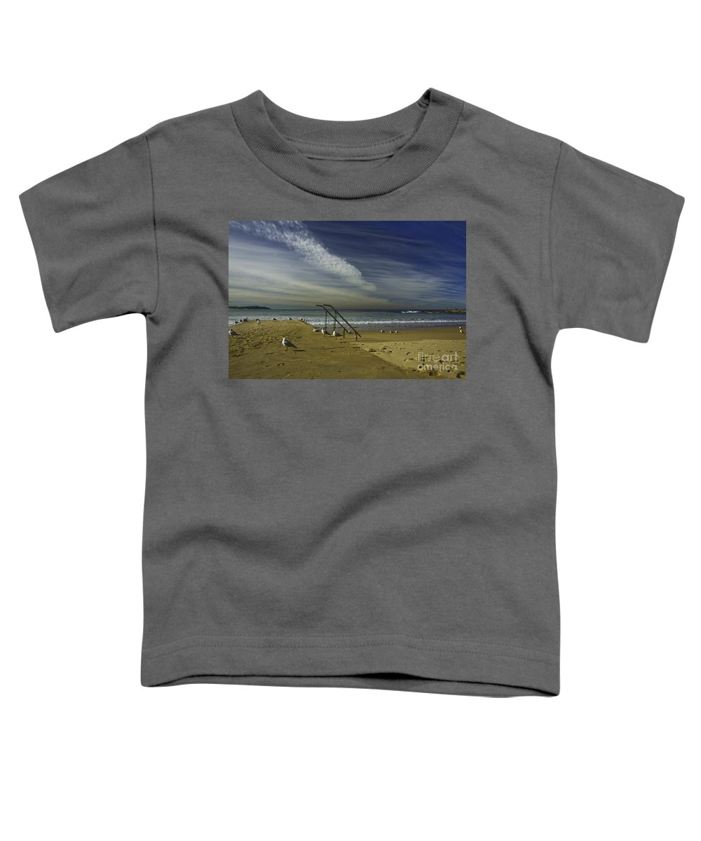 Beach Toddler T-Shirt featuring the photograph Dee Why Beach Sydney by Sheila Smart Fine Art Photography