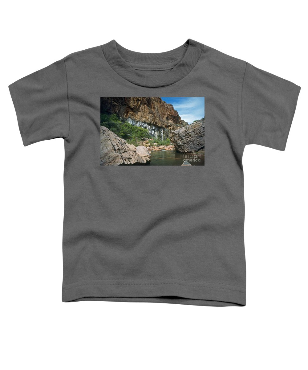 Landscape Toddler T-Shirt featuring the photograph Deep Water by Kathy McClure