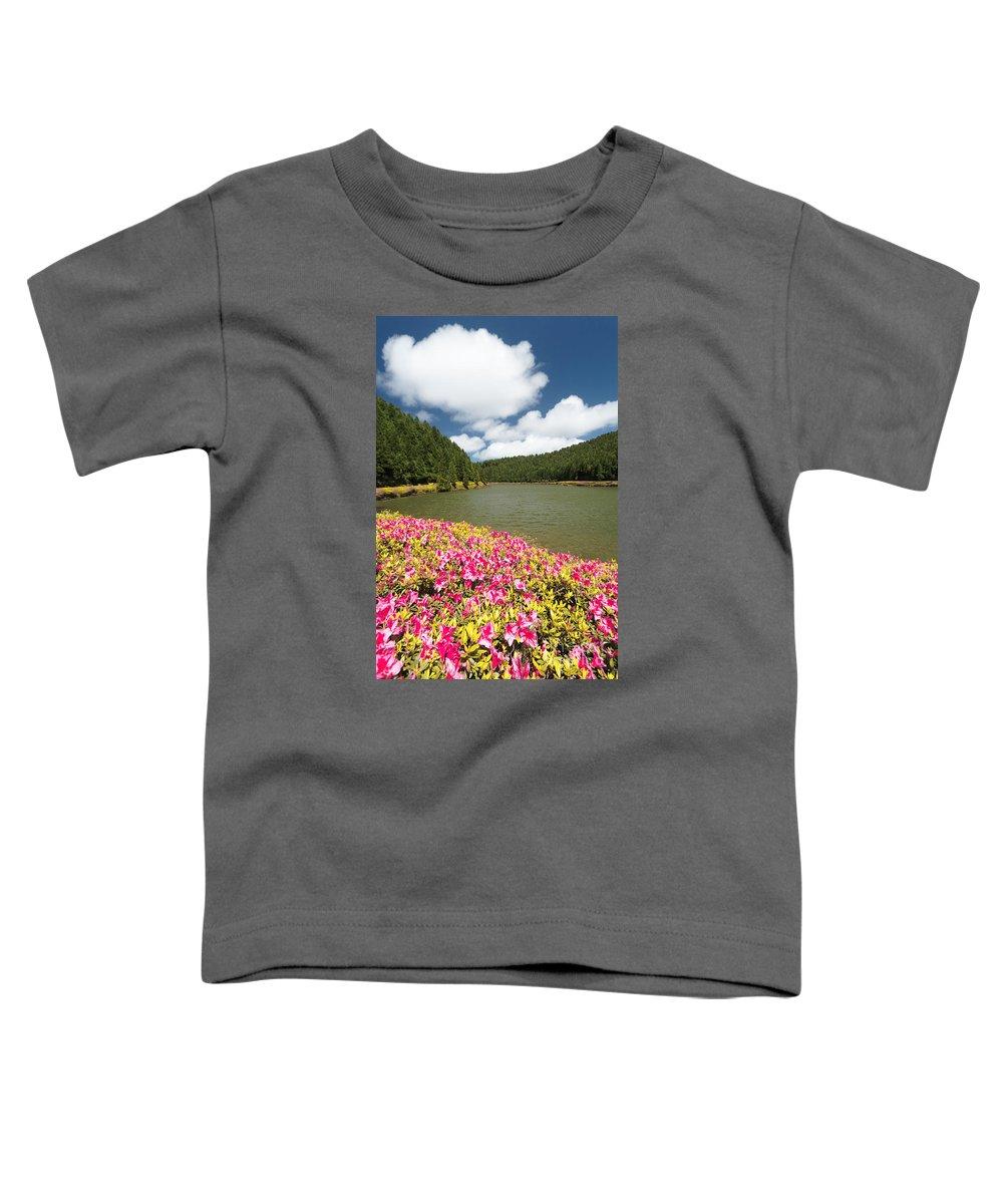 Portugal Toddler T-Shirt featuring the photograph Empadadas Lakes II by Gaspar Avila