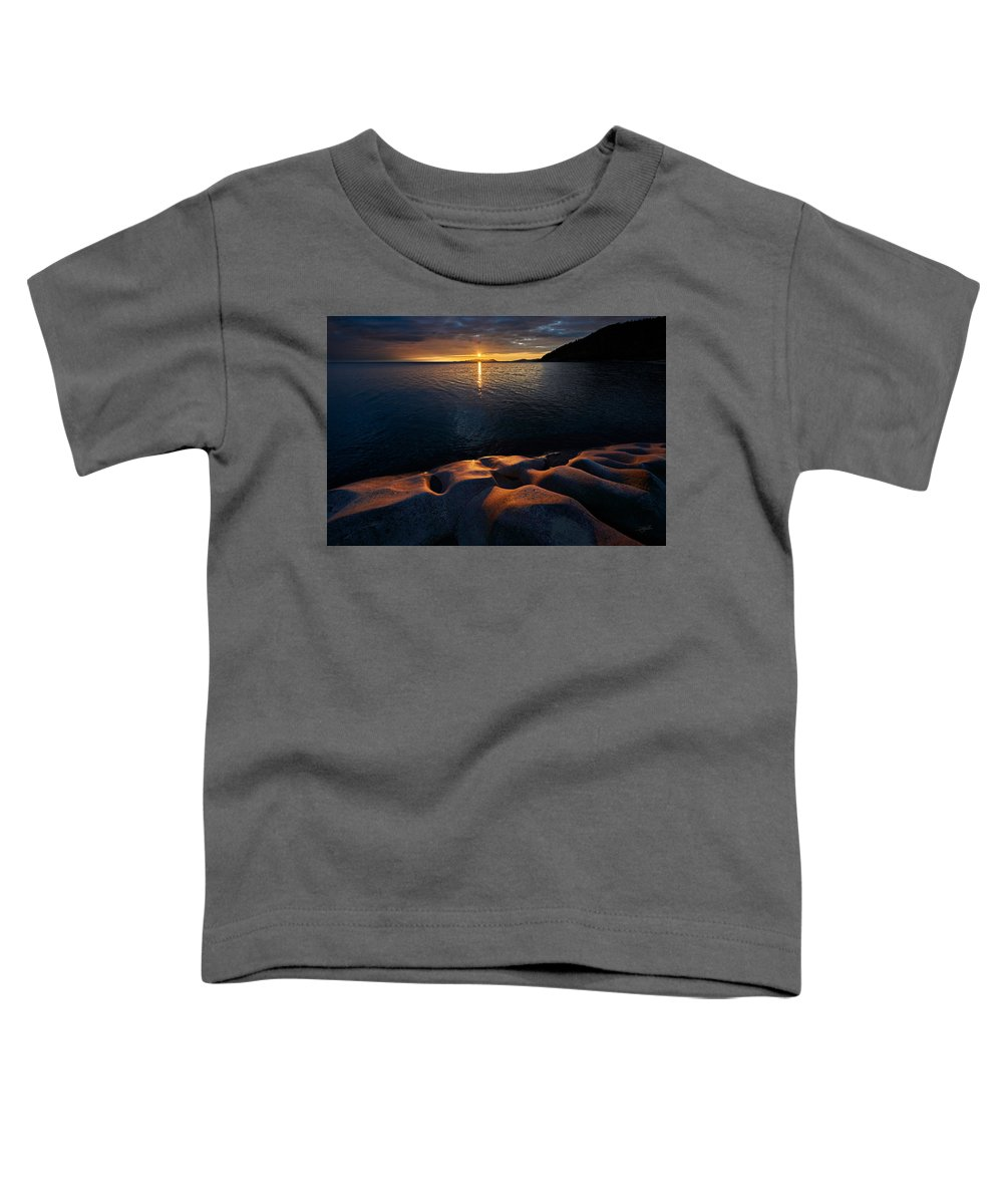 Toddler T-Shirt featuring the photograph Enduring Autumn by Doug Gibbons
