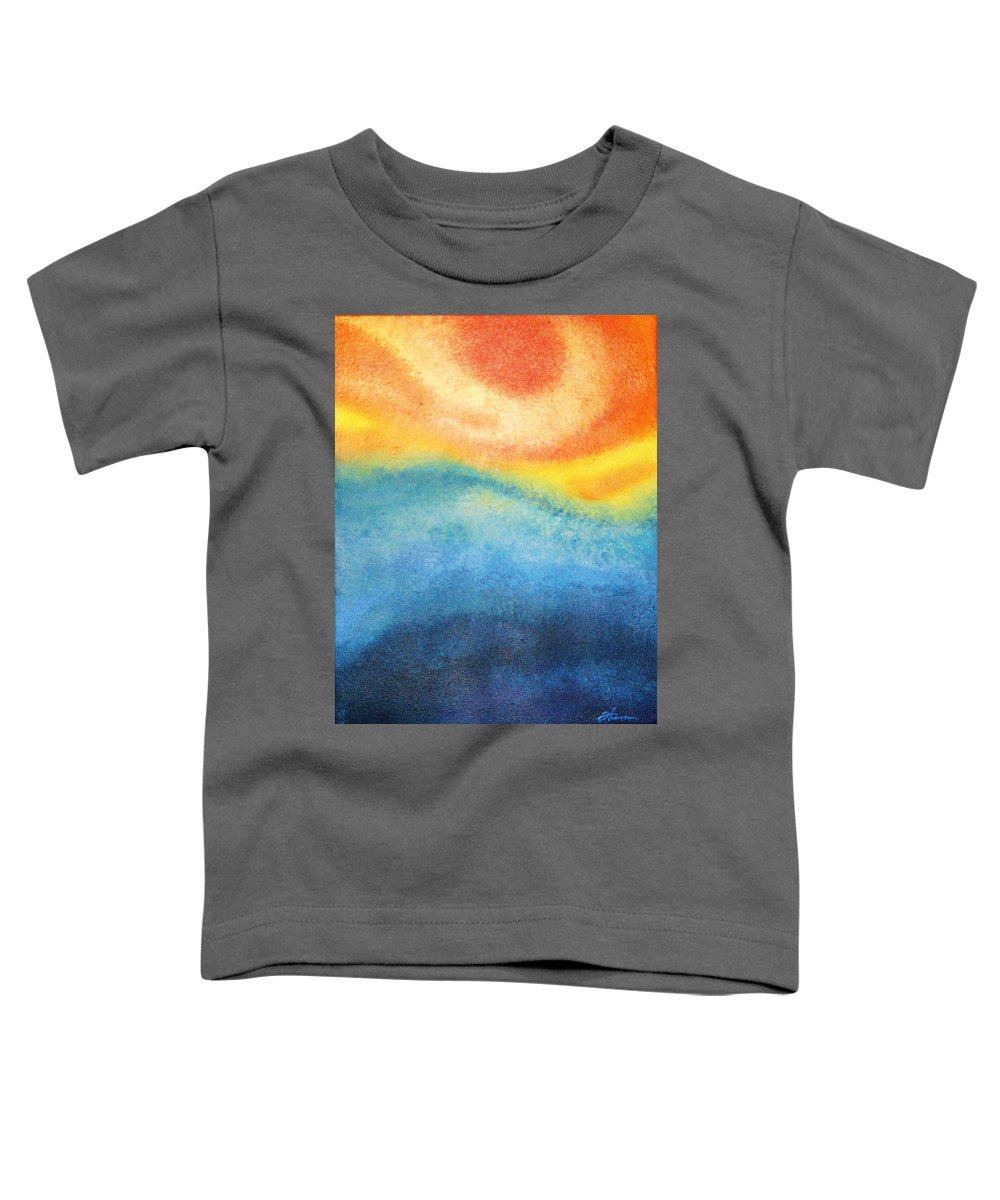 Escape Toddler T-Shirt featuring the painting Escape by Todd Hoover