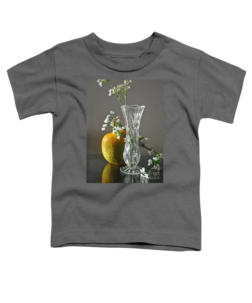 Still Life Toddler T-Shirt featuring the photograph Everlasting Harvest by Shelley Jones