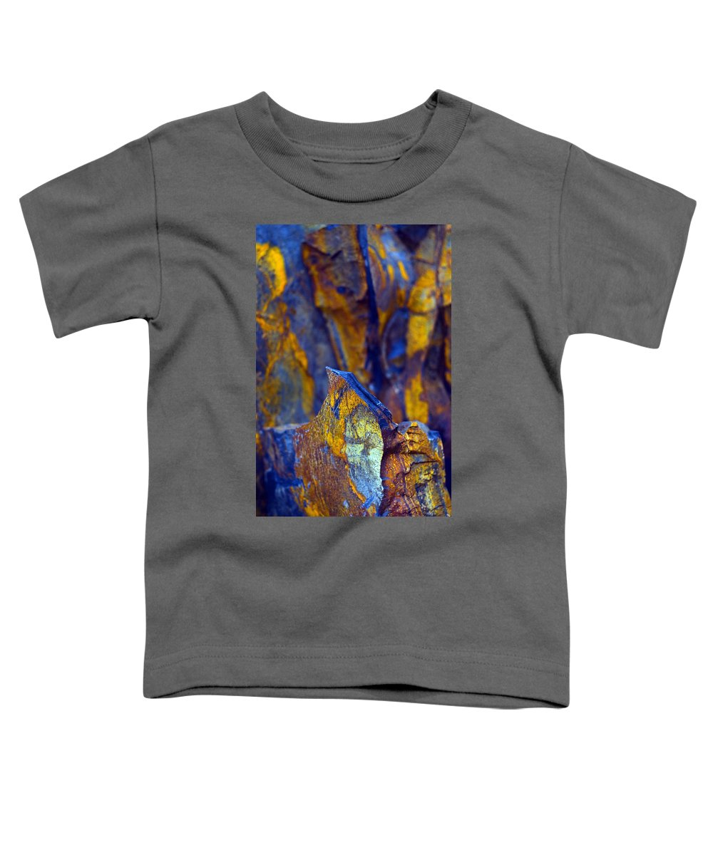 Texture Toddler T-Shirt featuring the photograph First Cut Is The Deepest by Skip Hunt