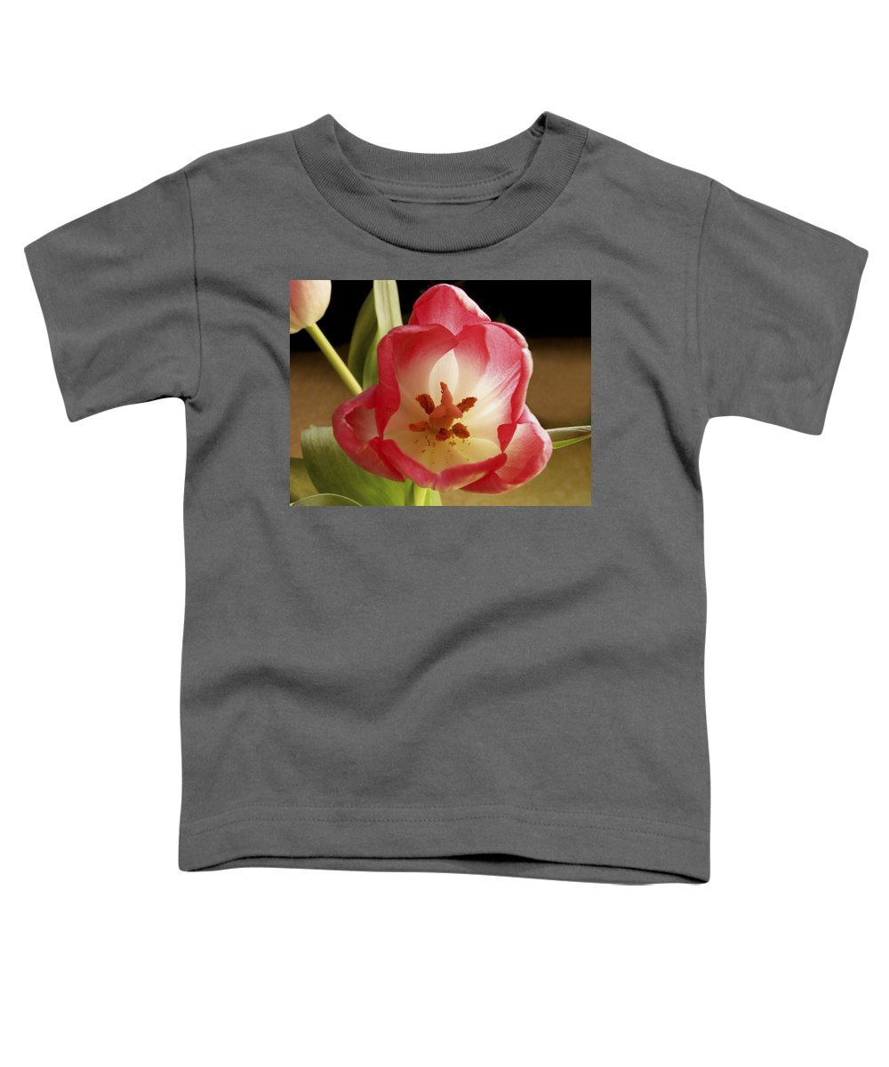 Flowers Toddler T-Shirt featuring the photograph Flower Tulip by Nancy Griswold