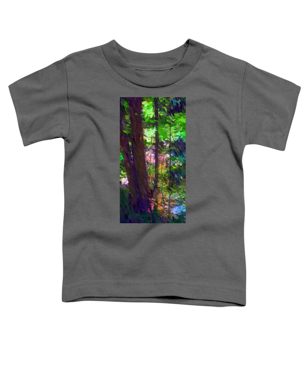 Digital Photography Toddler T-Shirt featuring the digital art Forest For The Trees by David Lane