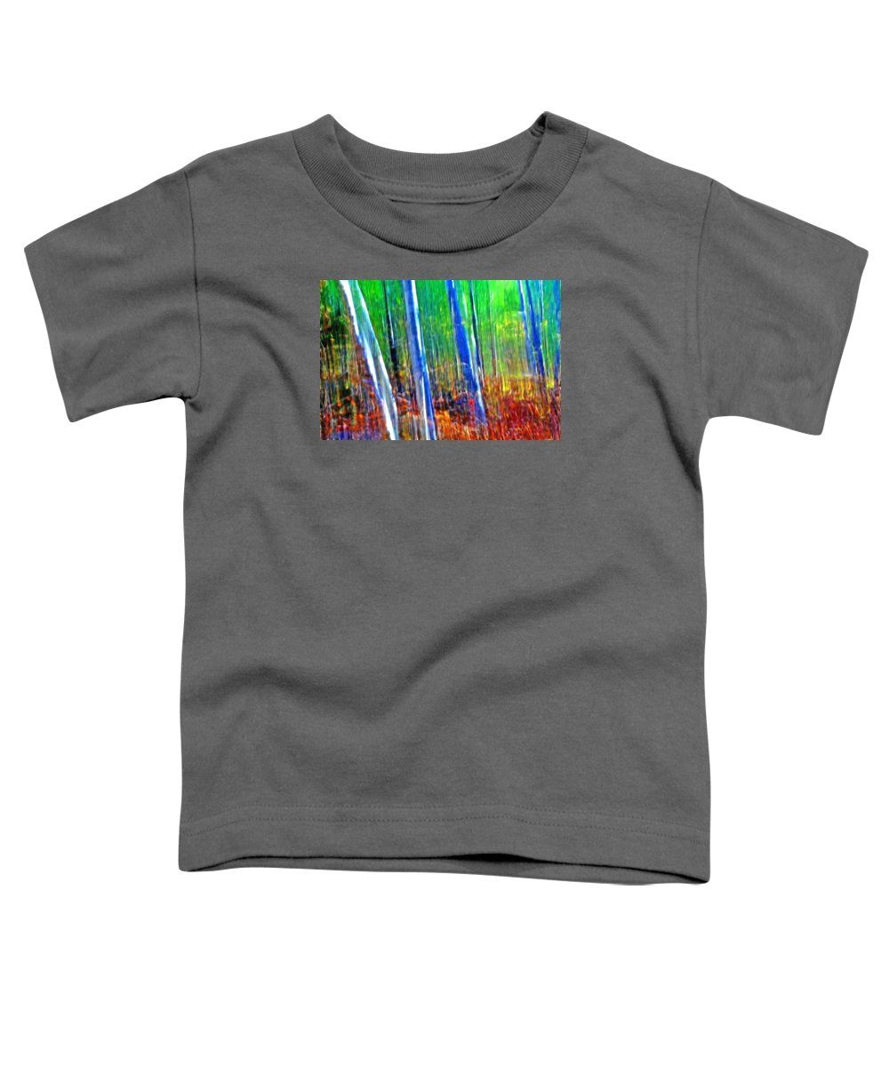 Forest Toddler T-Shirt featuring the photograph Forest Magic by Bill Morgenstern