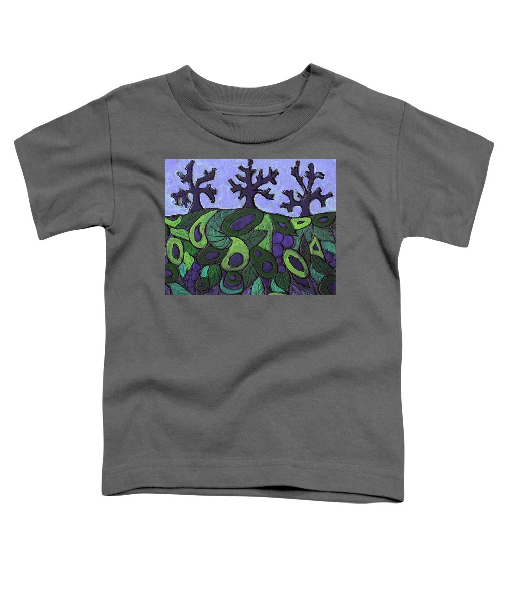 Forest Toddler T-Shirt featuring the painting Forest Royal by Wayne Potrafka