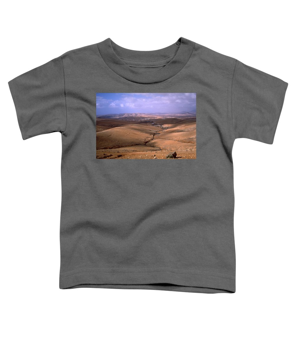 Fuerteventura Toddler T-Shirt featuring the photograph Fuerteventura I by Flavia Westerwelle