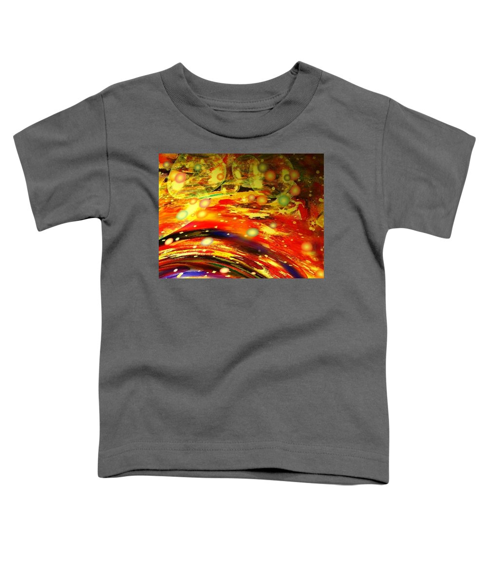Galaxy Toddler T-Shirt featuring the digital art Galaxy by Natalie Holland