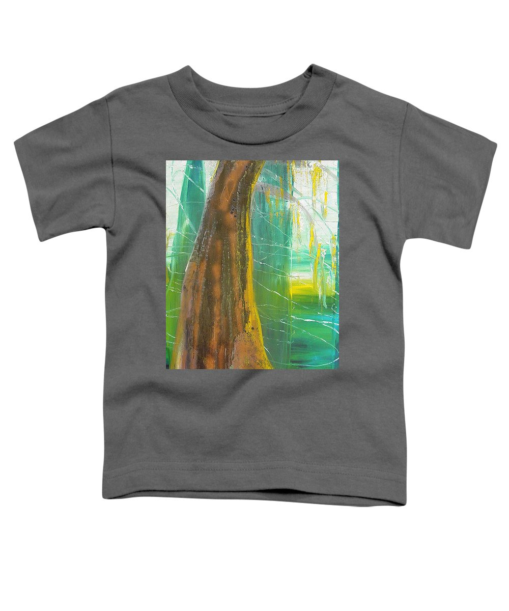 Landscape Toddler T-Shirt featuring the painting Georgia Morning by Peggy Blood