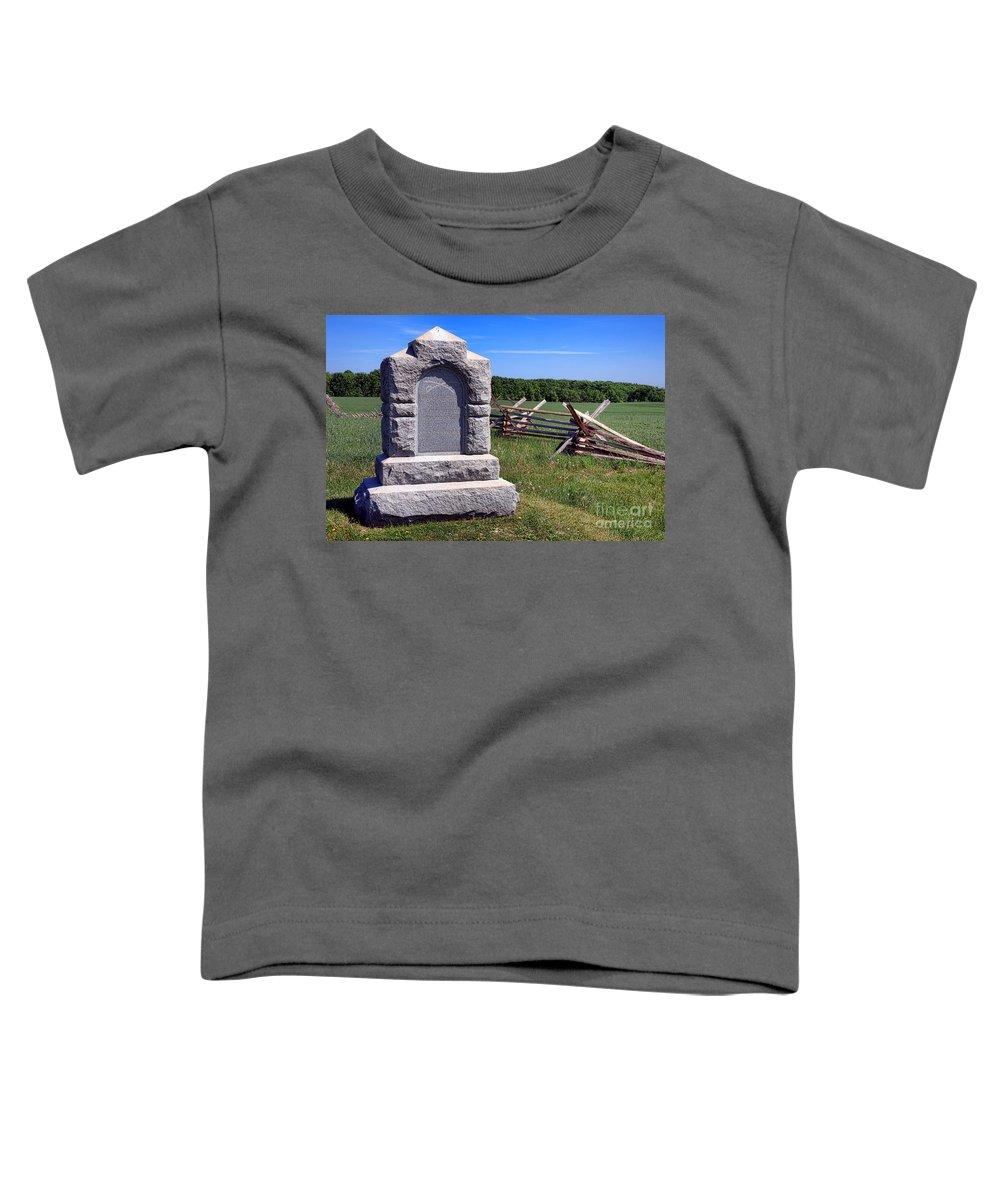Gettysburg Battlefield Toddler T-Shirts
