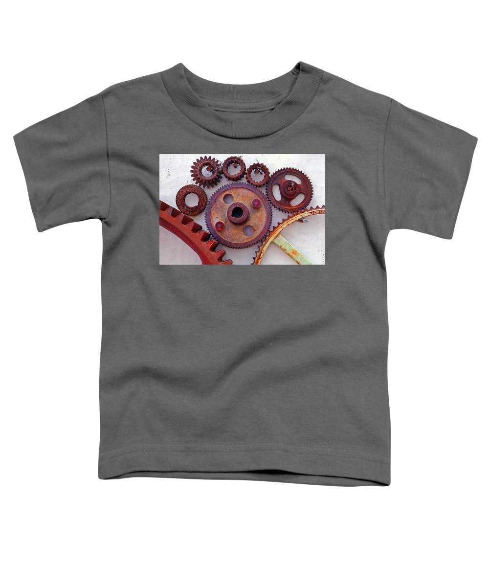 Gears Toddler T-Shirt featuring the photograph Ghost by Skip Hunt