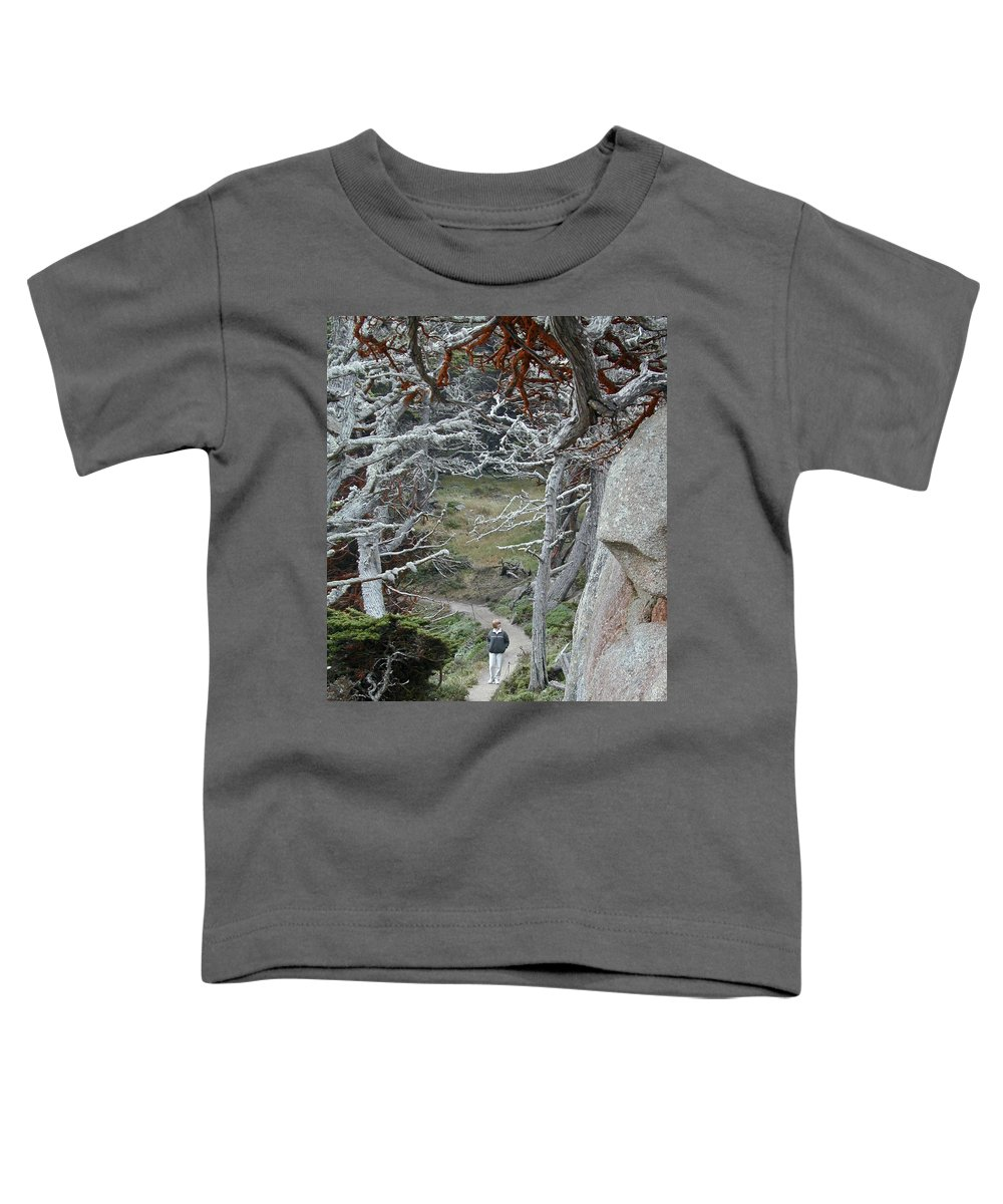Lichens Toddler T-Shirt featuring the photograph Ghost Trees by Douglas Barnett