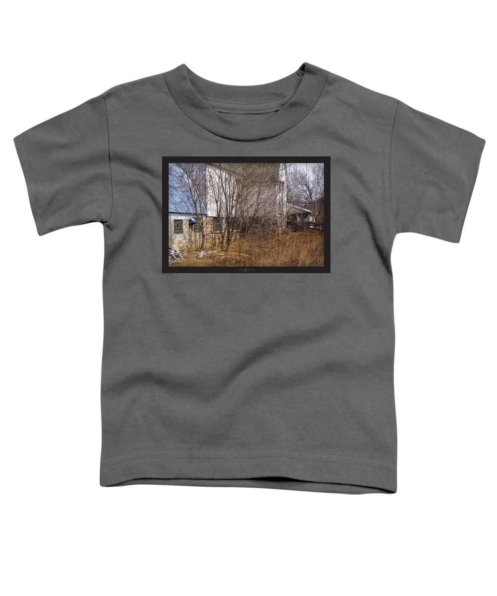 Barn Toddler T-Shirt featuring the photograph Glass Block by Tim Nyberg