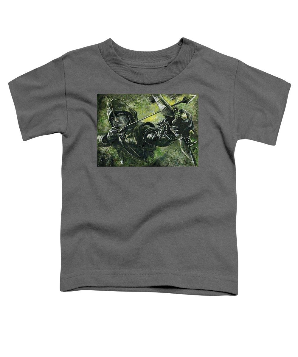 Green Flash Toddler T-Shirts