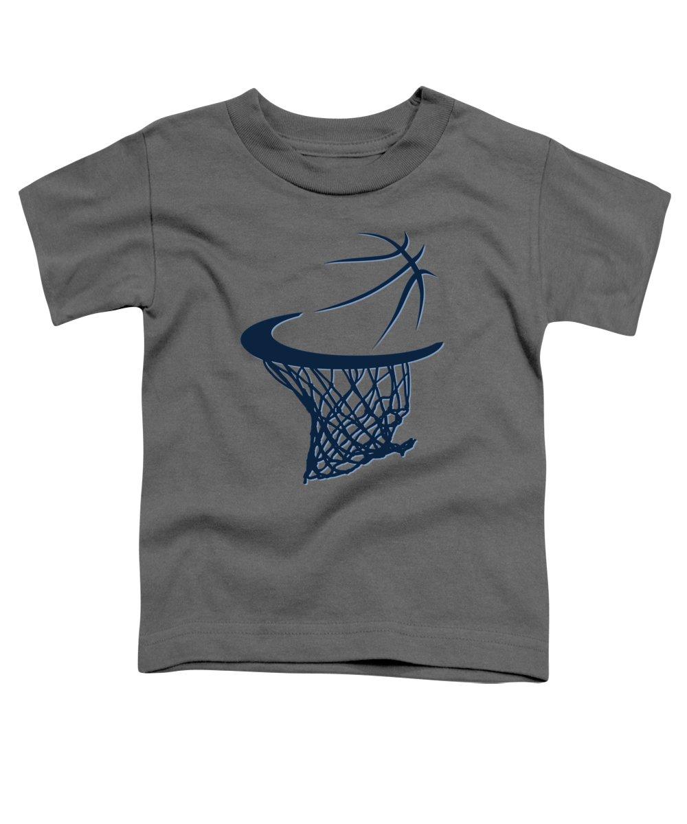 Grizzlies Toddler T-Shirt featuring the photograph Grizzlies Basketball Hoop by Joe Hamilton