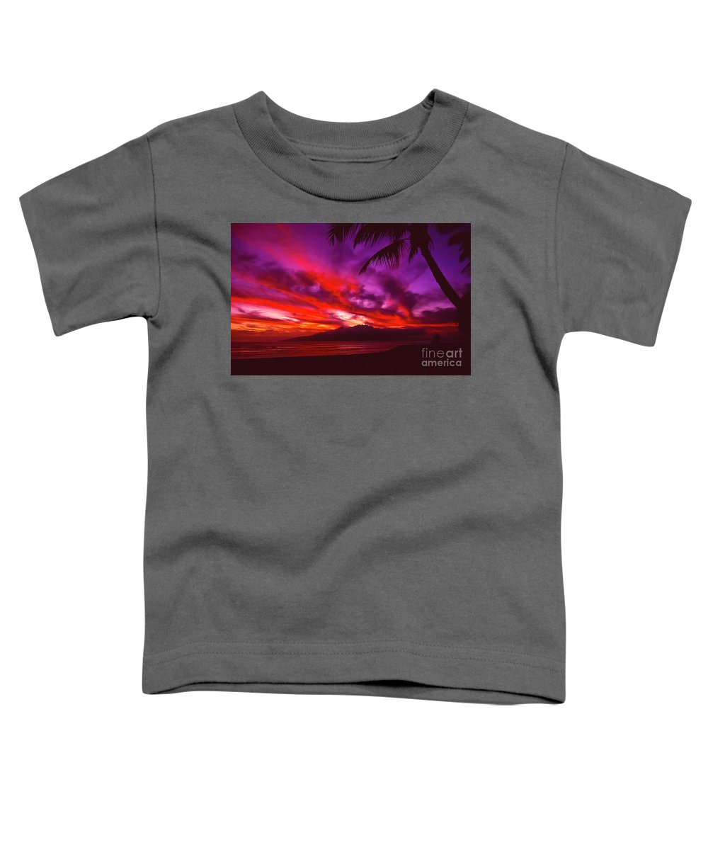 Landscapes Toddler T-Shirt featuring the photograph Hand Of Fire by Jim Cazel