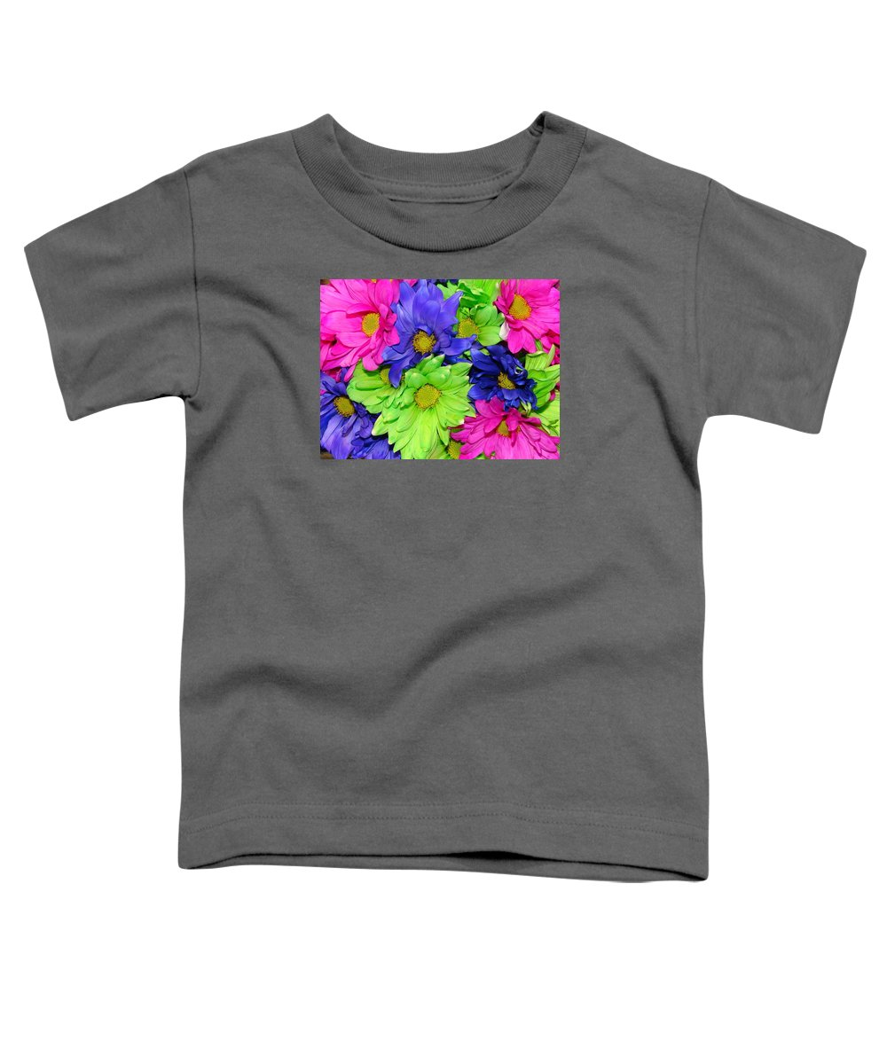 Flowers Toddler T-Shirt featuring the photograph Happiness by J R  Seymour