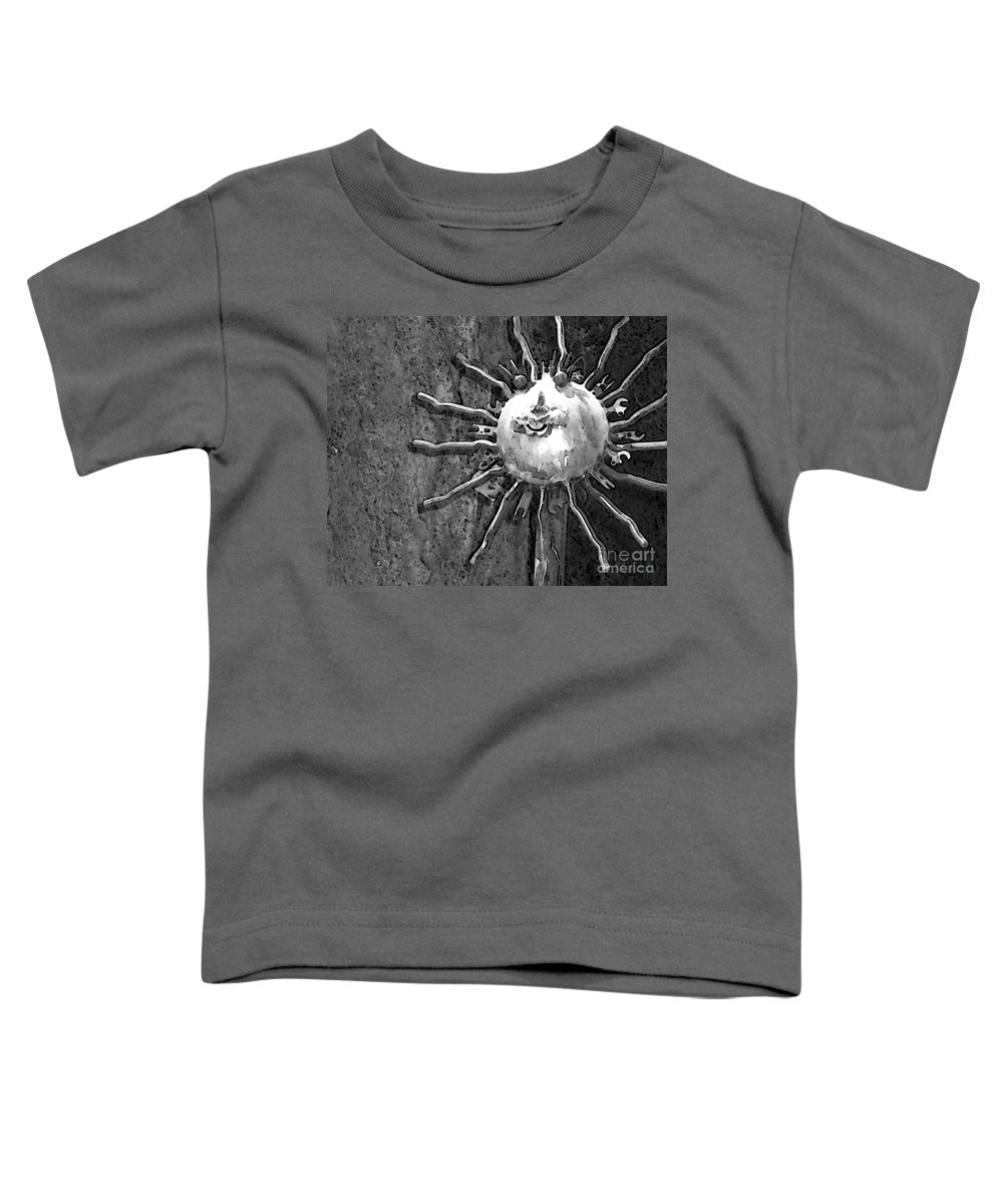 Sun Toddler T-Shirt featuring the photograph Here Comes The Sun by Debbi Granruth