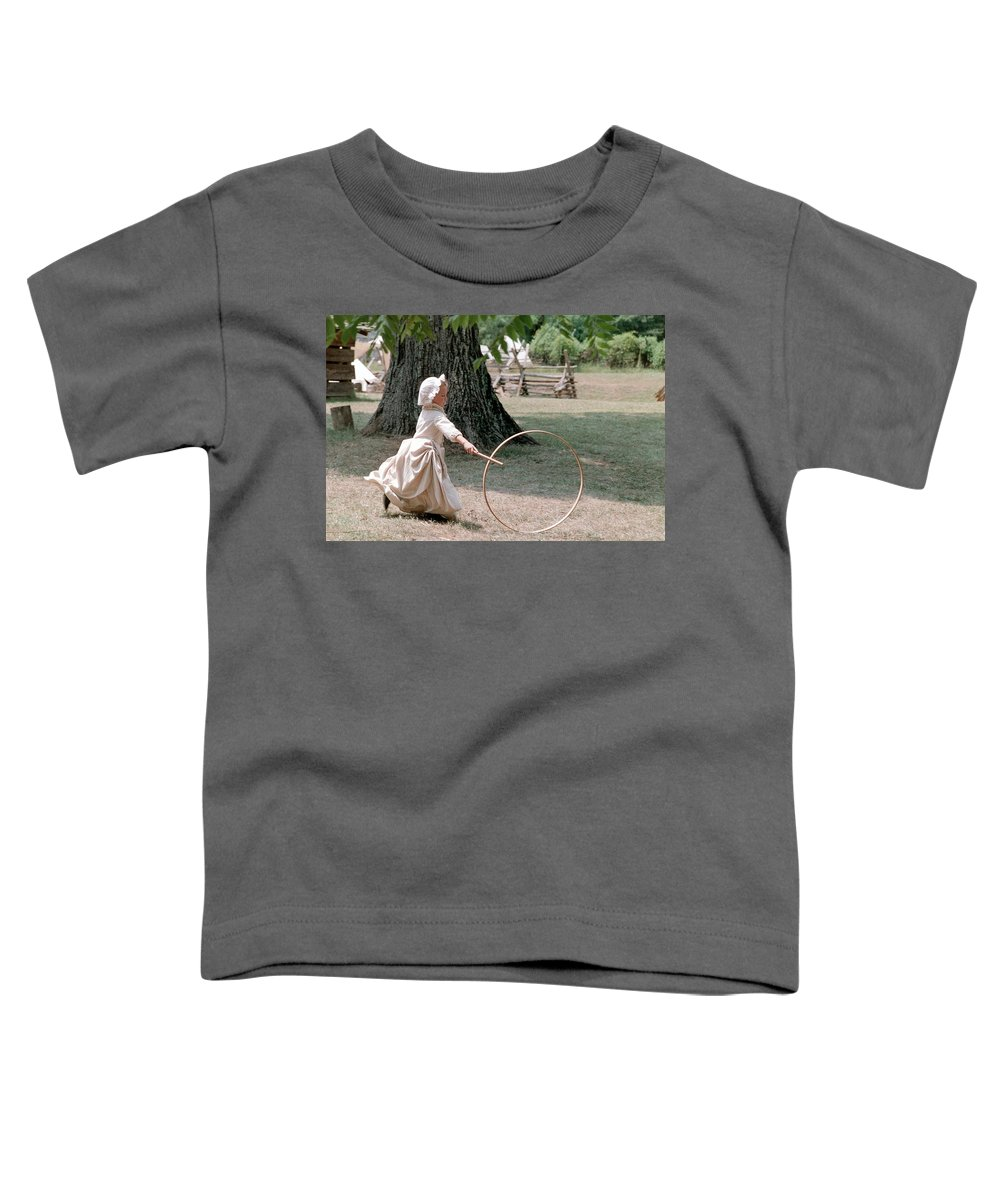 Hoop Toddler T-Shirt featuring the photograph Hoop by Flavia Westerwelle