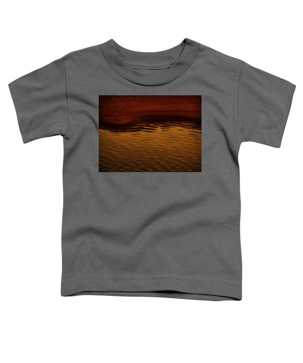 Abstract Toddler T-Shirt featuring the photograph I Want To Wake Up Where You Are by Dana DiPasquale