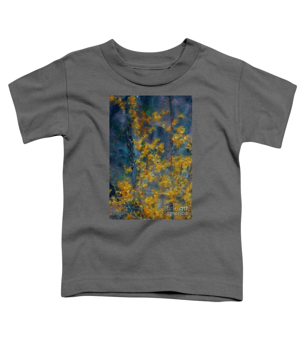 Toddler T-Shirt featuring the photograph In The Woods by David Lane