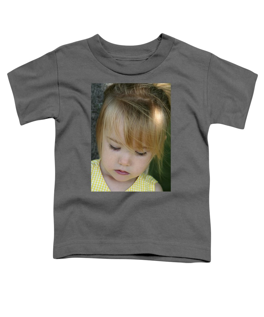 Angelic Toddler T-Shirt featuring the photograph Innocence II by Margie Wildblood