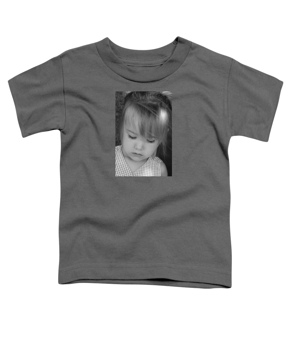 Angelic Toddler T-Shirt featuring the photograph Innocence by Margie Wildblood