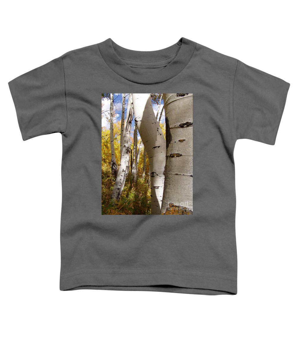 Trees Toddler T-Shirt featuring the photograph Jackson Hole Wyoming by Amanda Barcon