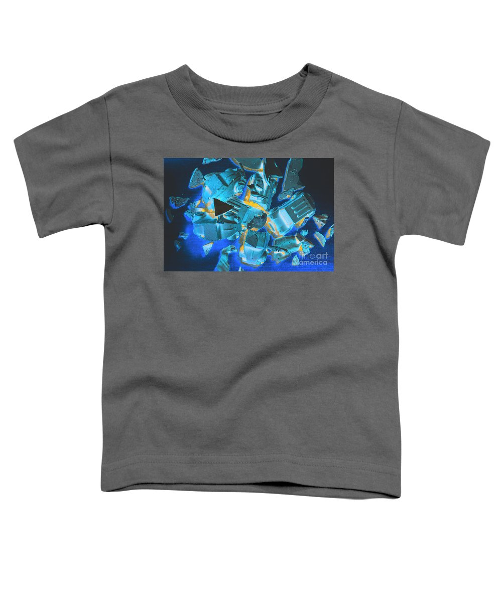 Fractal Toddler T-Shirt featuring the photograph Just Like A Slow Motion Car Crash by Jorgo Photography - Wall Art Gallery