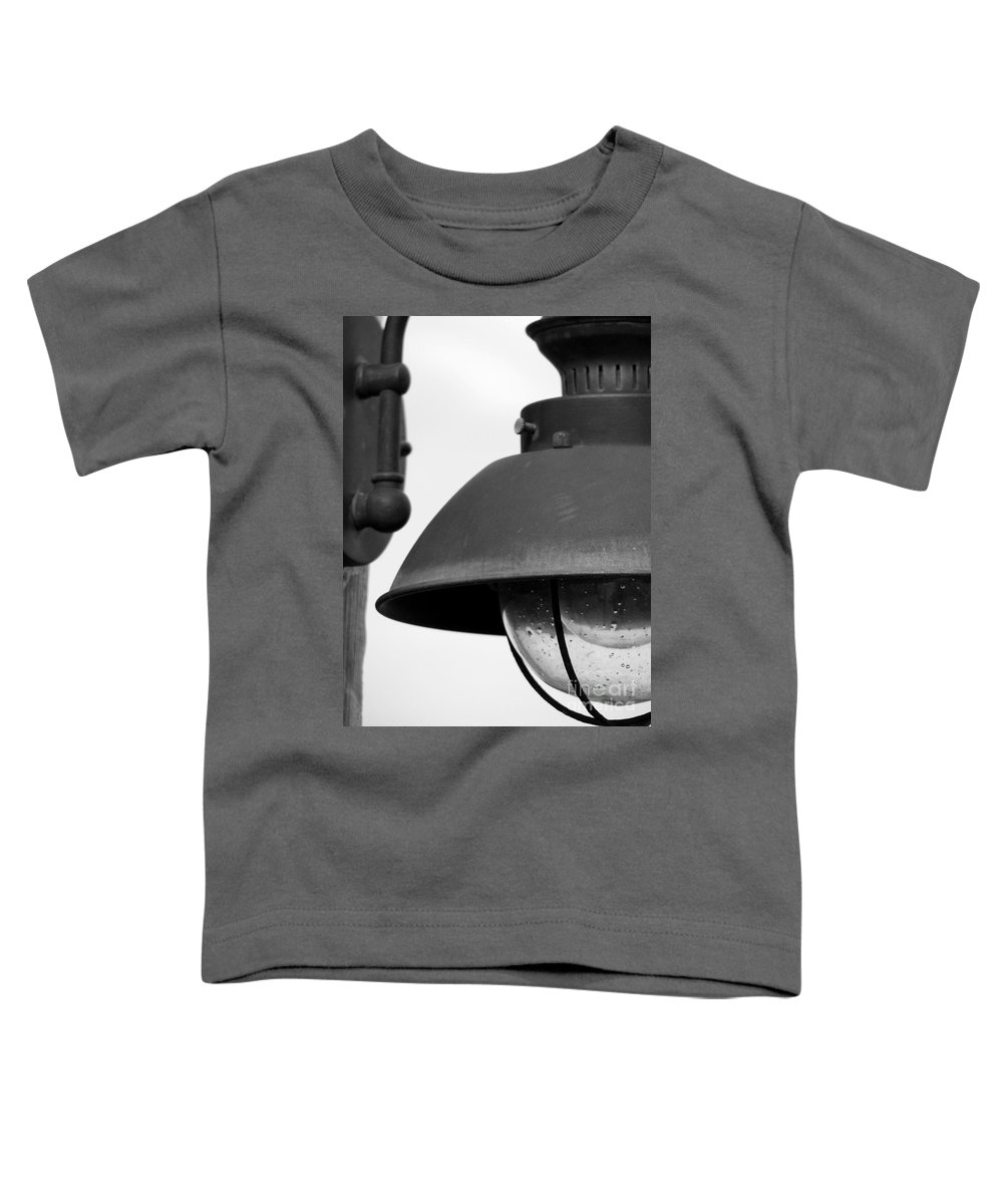 Lamppost Toddler T-Shirt featuring the photograph Lamp Post by Amanda Barcon