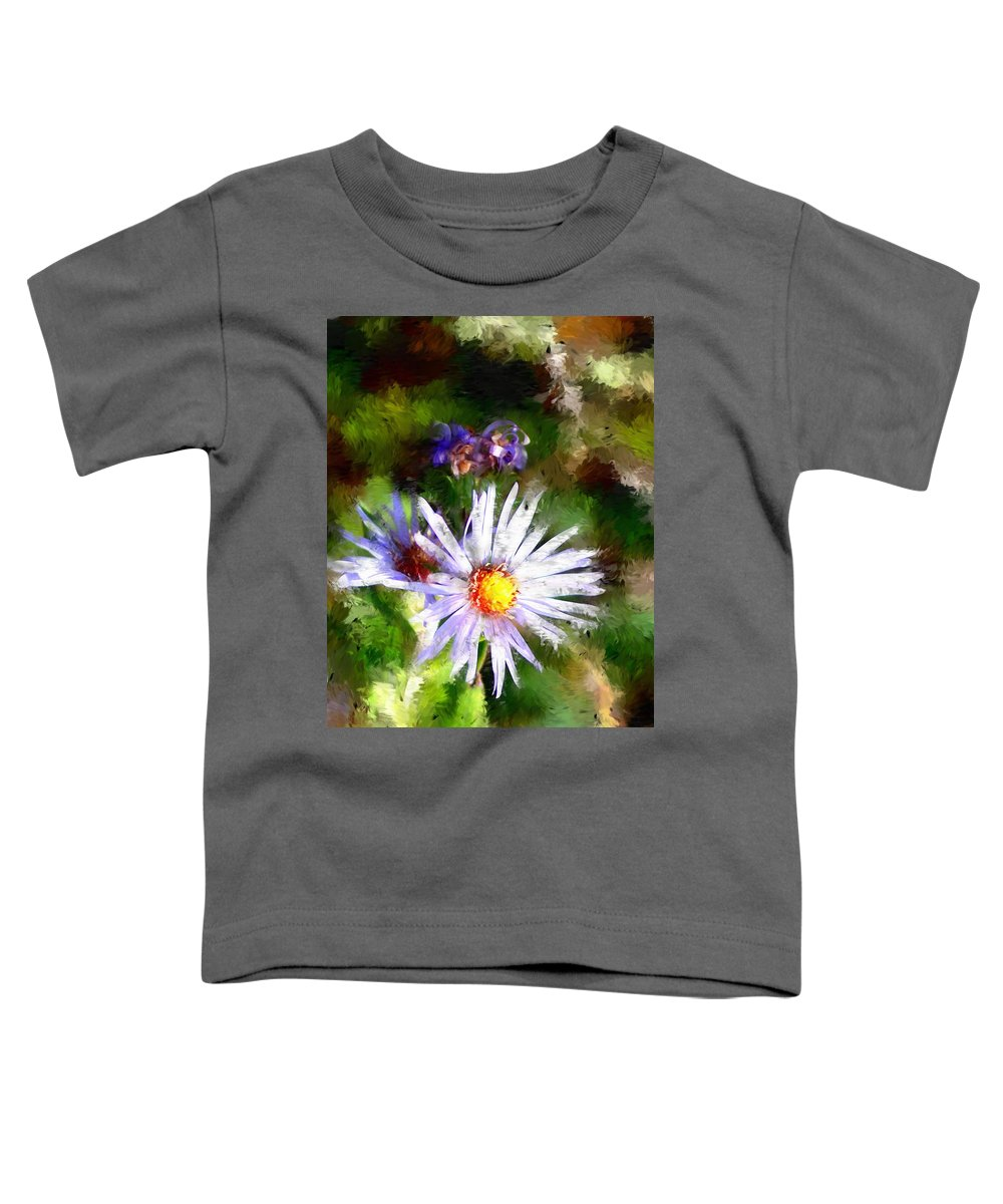 Flower Toddler T-Shirt featuring the photograph Last Rose Of Summer by David Lane