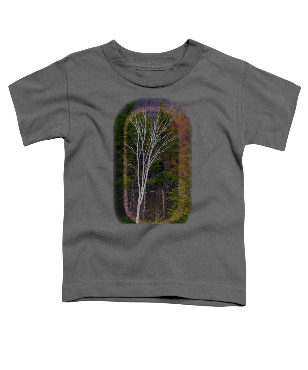 Contoocook Toddler T-Shirt featuring the photograph Life's A Birch No.1 by Mark Myhaver