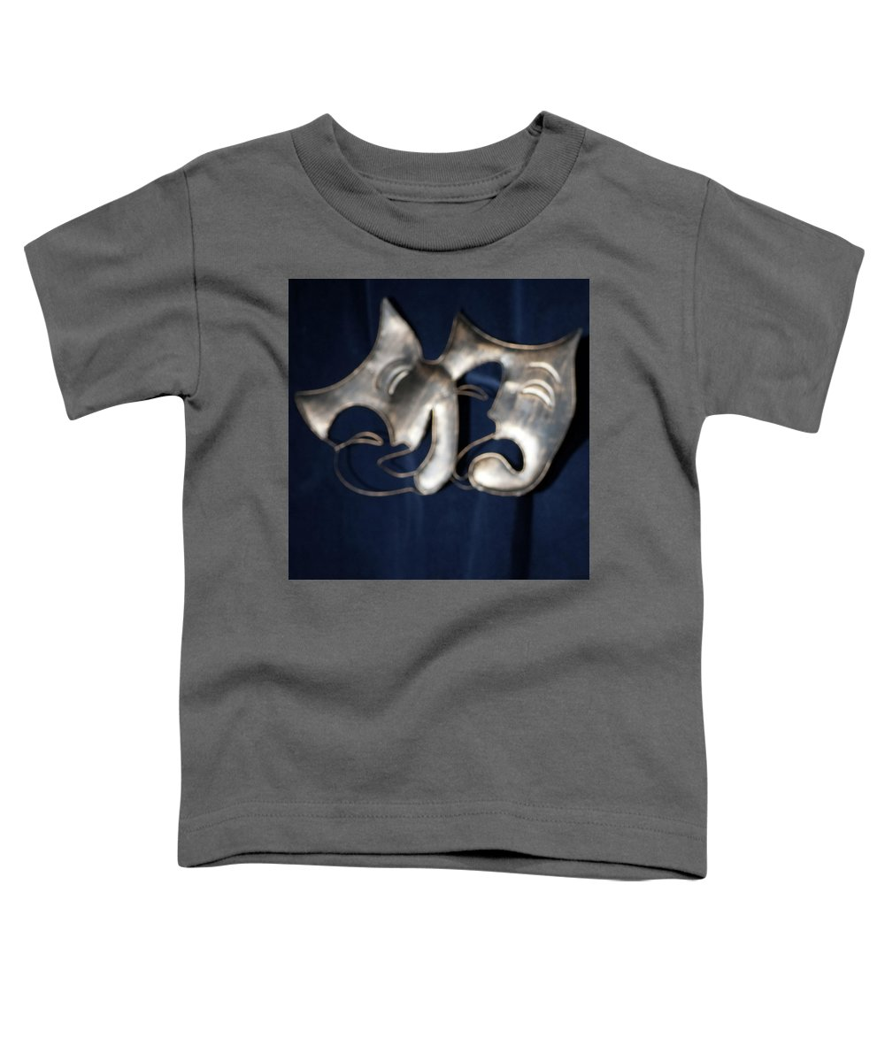 Logo Toddler T-Shirt featuring the photograph Logo for Theater Productions by Alan D Smith