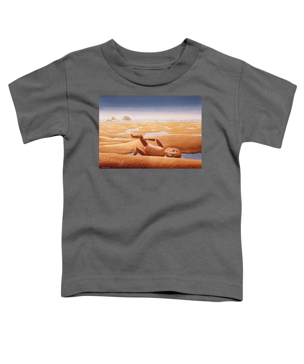 Surreal Toddler T-Shirt featuring the painting Lost In A Dream by Mark Cawood