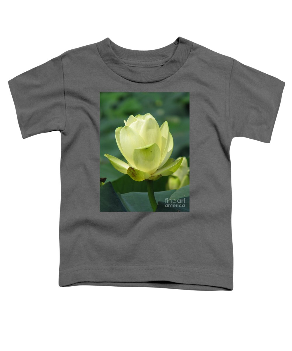 Lotus Toddler T-Shirt featuring the photograph Lotus by Amanda Barcon