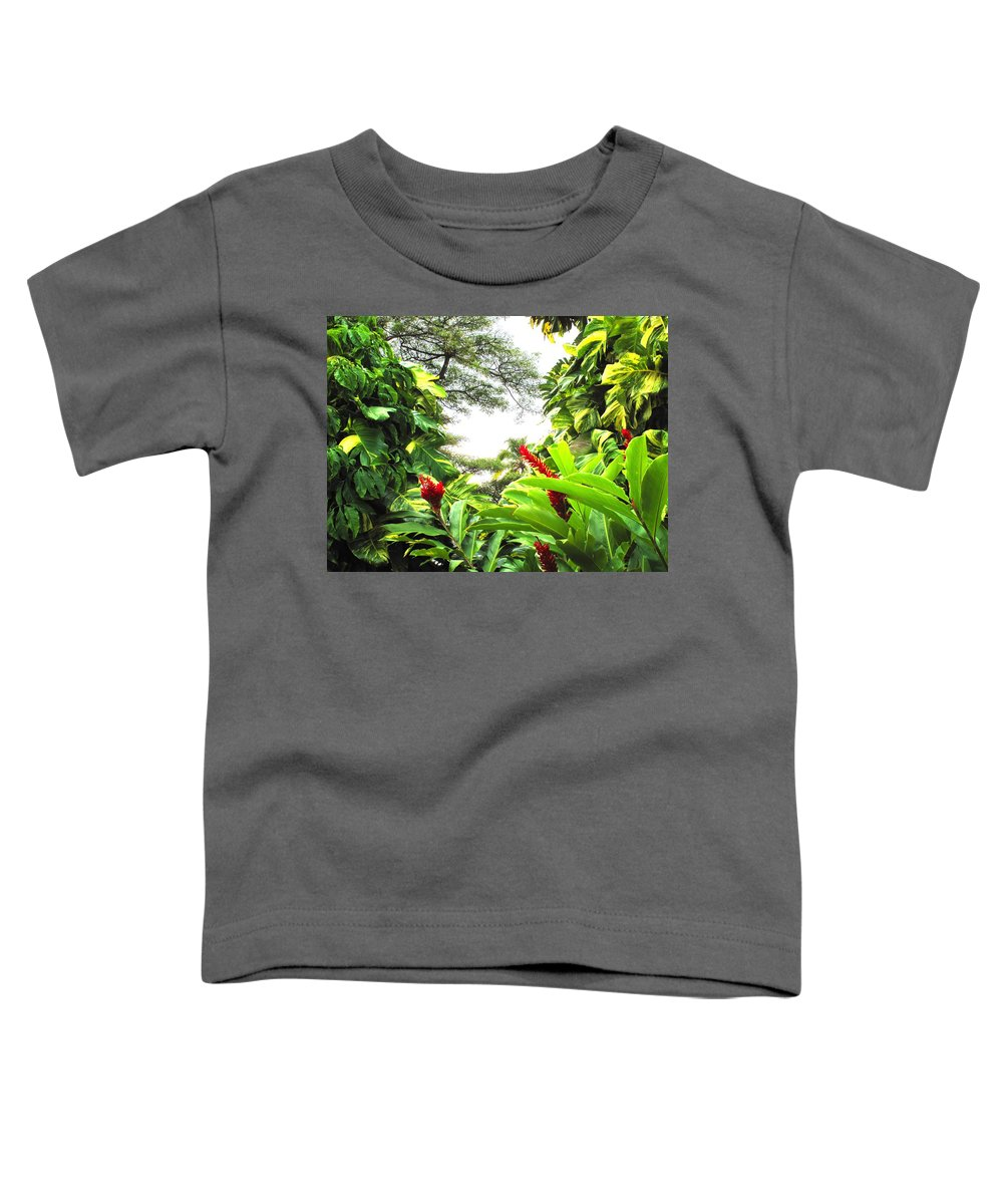 St Kitts Toddler T-Shirt featuring the photograph Lush by Ian MacDonald