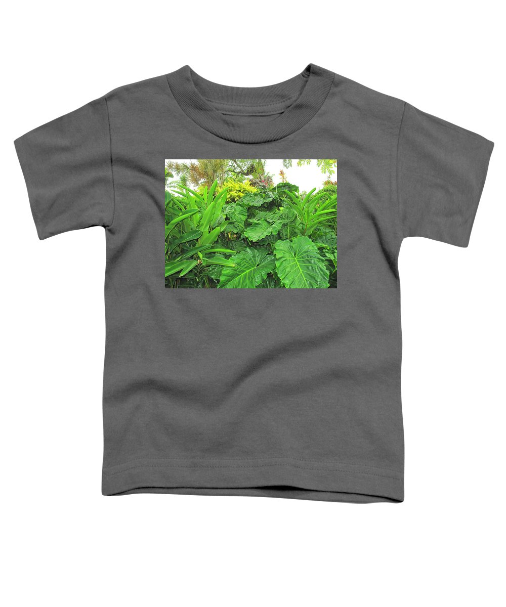 Vegetation Toddler T-Shirt featuring the photograph Lust Too by Ian MacDonald