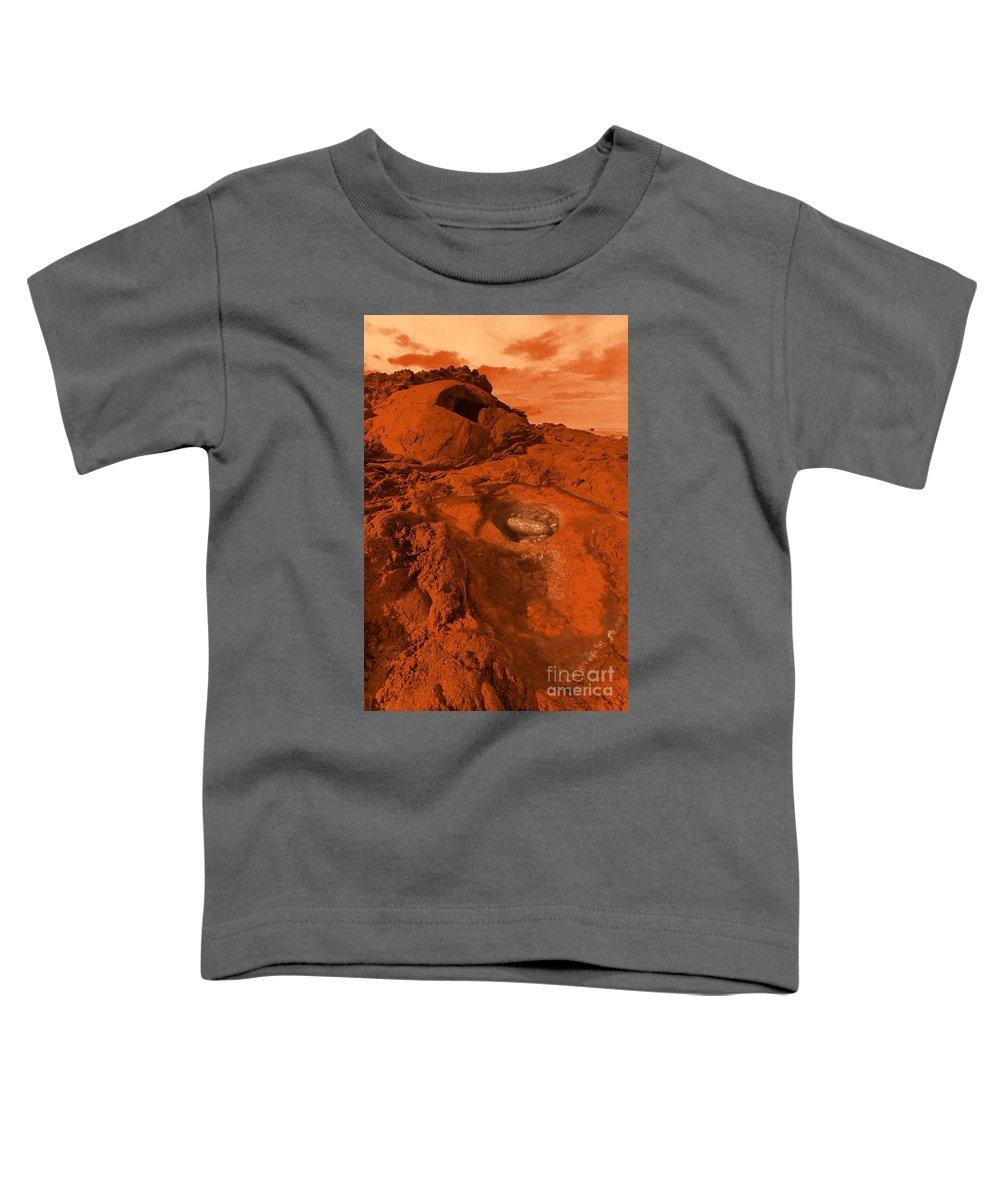 Alien Toddler T-Shirt featuring the photograph Mars Landscape by Gaspar Avila