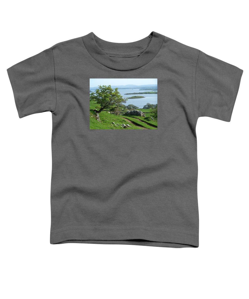 Ireland Toddler T-Shirt featuring the photograph May The Road Rise To Meet You by Teresa Mucha