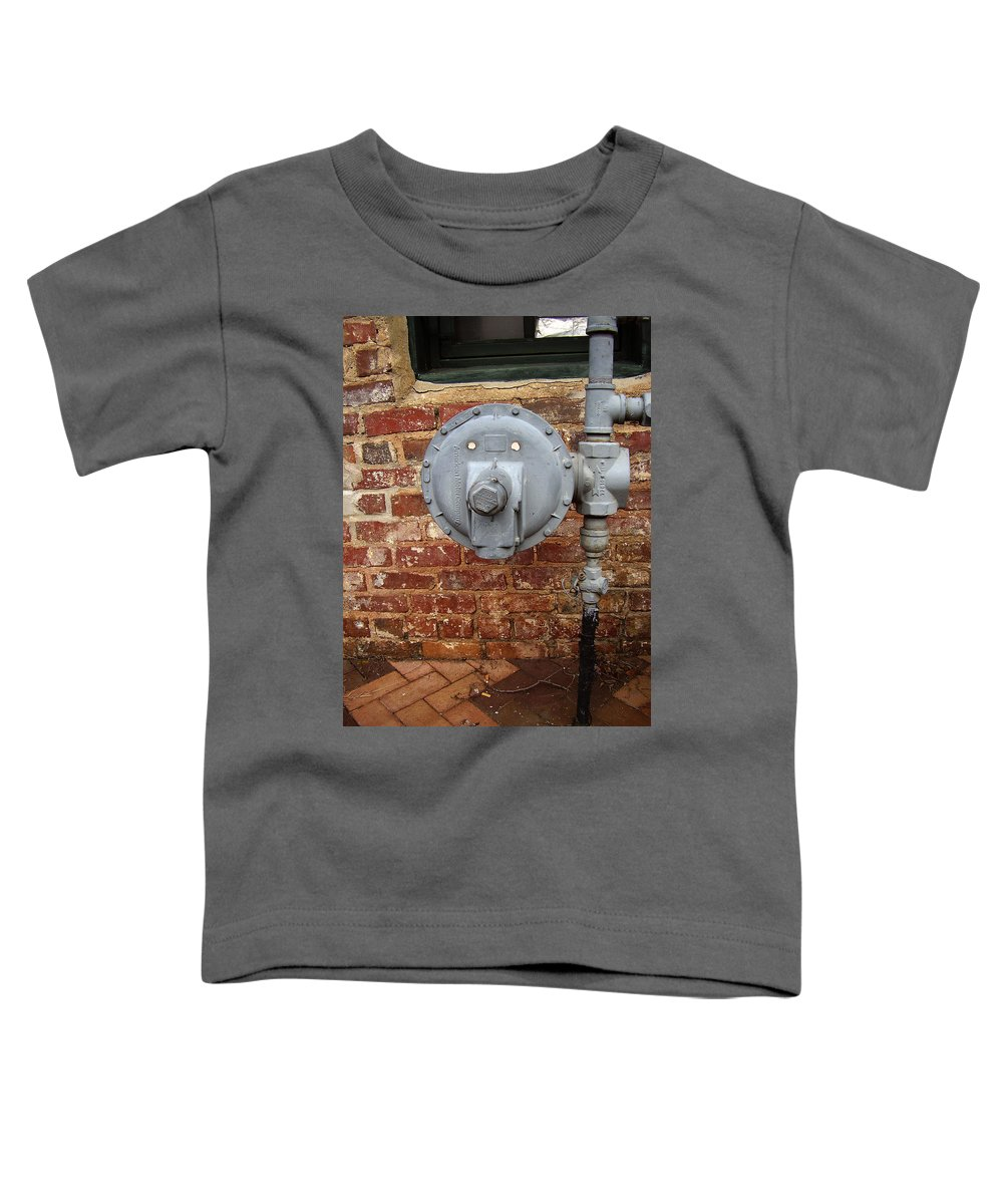 Meter Toddler T-Shirt featuring the photograph Meter In Athens Ga by Flavia Westerwelle
