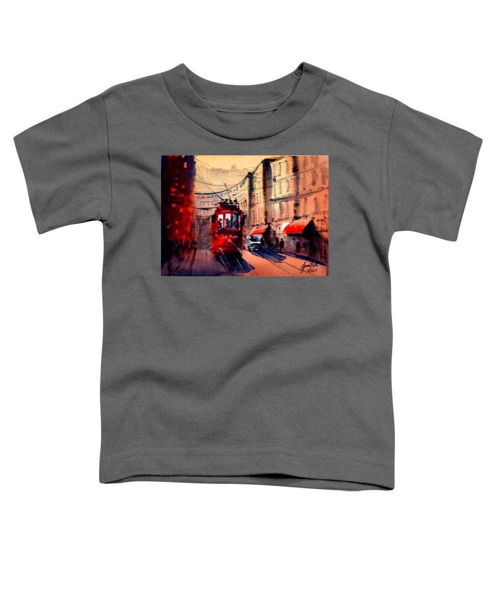 Tram Toddler T-Shirts