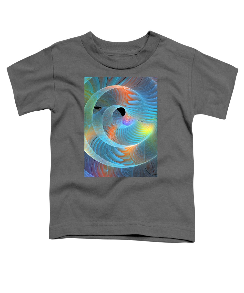 Digital Art Toddler T-Shirt featuring the digital art Moment Of Elation by Amanda Moore